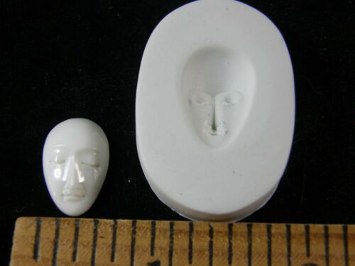 #MD1481 Small Goddess Face Polymer Clay Mold