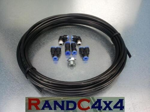 Land rover defender wading kit black V8 moteur boite de vitesses et essieux