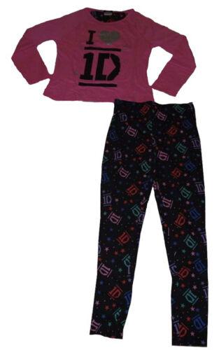 Ragazze Pigiami One Direction 9 10 11 12 /& 13 anni