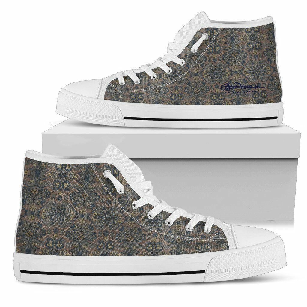 Not Quite Paisley High Top Sneakers