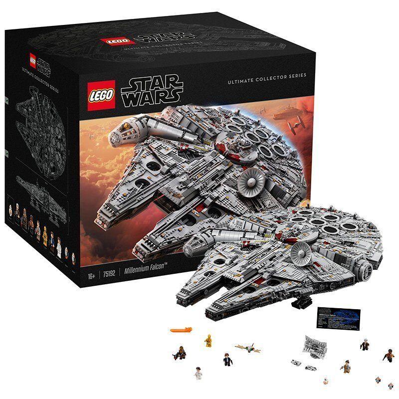 ULTIMA  nuovo  UNOPENED   75192 LEGO estrella guerras FALCON MILLENIUM ULTIMATE COLLECTOR  solo per te