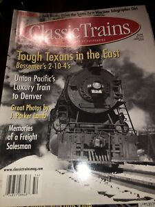 Classic-Trains-LOT-of-7-Magazines-FROM-2000-2009