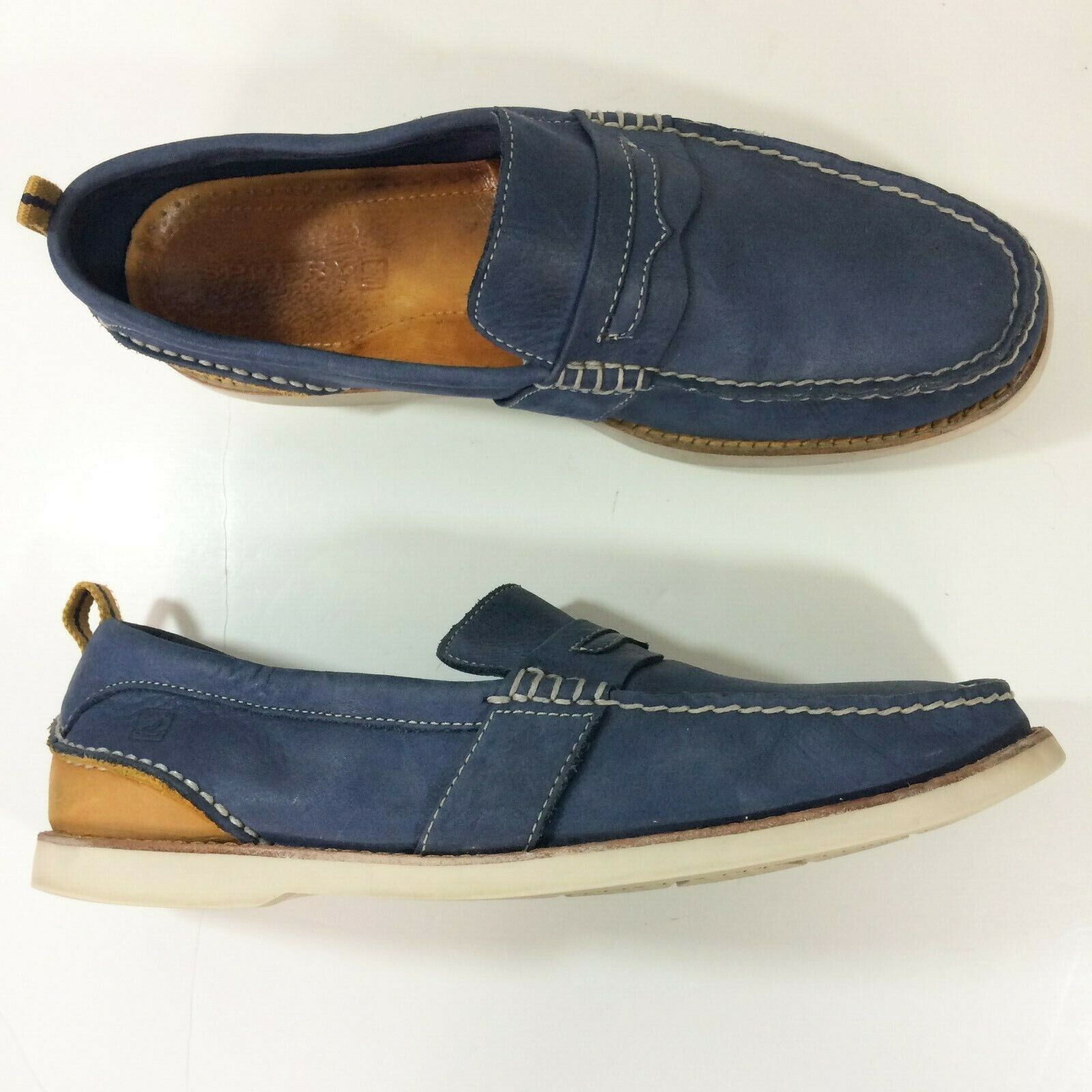 Sperry Top Sider men's loafers 11M bluee
