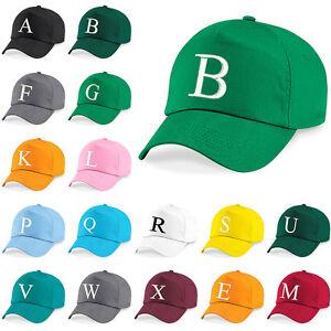 Baseball-Cap-Kids-Letter-Hat-Girls-Boys-Childrens-Summer-Kelly-Green