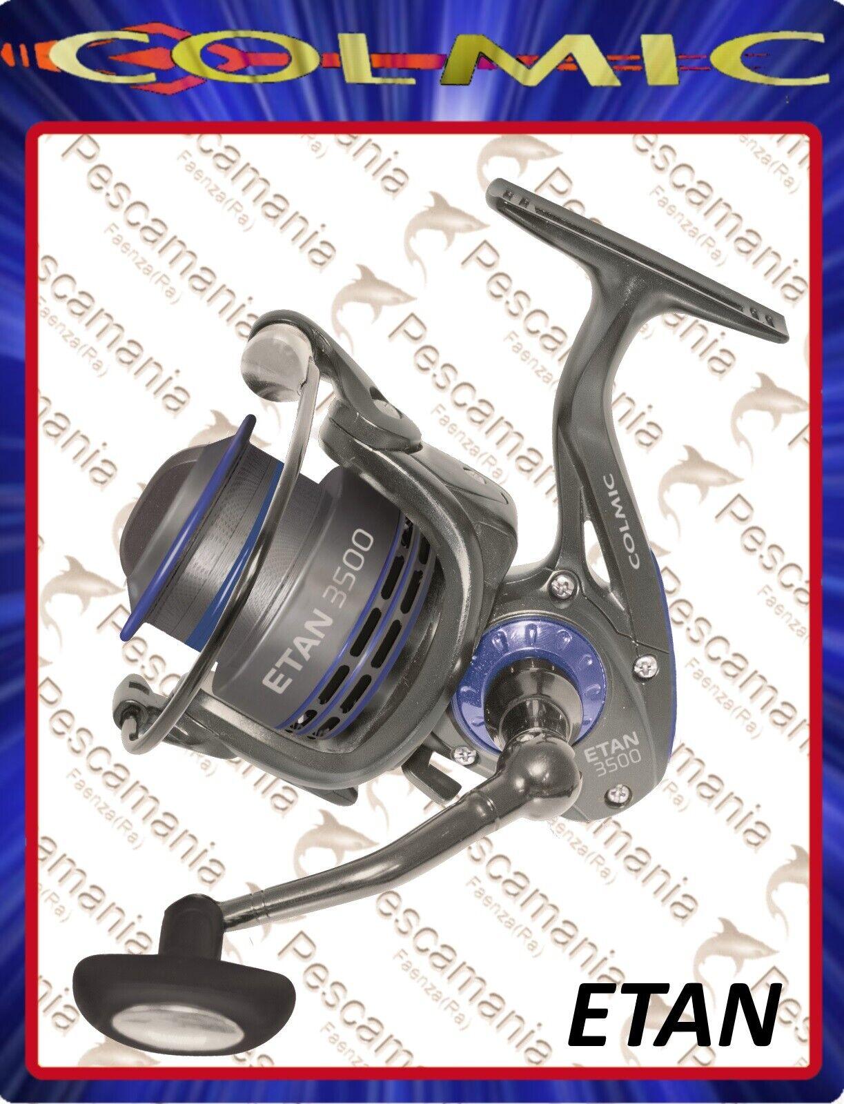 Mulinello Colmic ETAN 2500-3500-5000 spinning bolo match fishing feeder 8+1BB