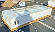 New 72 Commercial Freezer Merchandiser Glass Door Countertop Counter Top Use