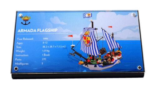 CUSTOM ACRYLIC DISPLAY STAND LEGO 6280 /& 6291 Armada Flagship