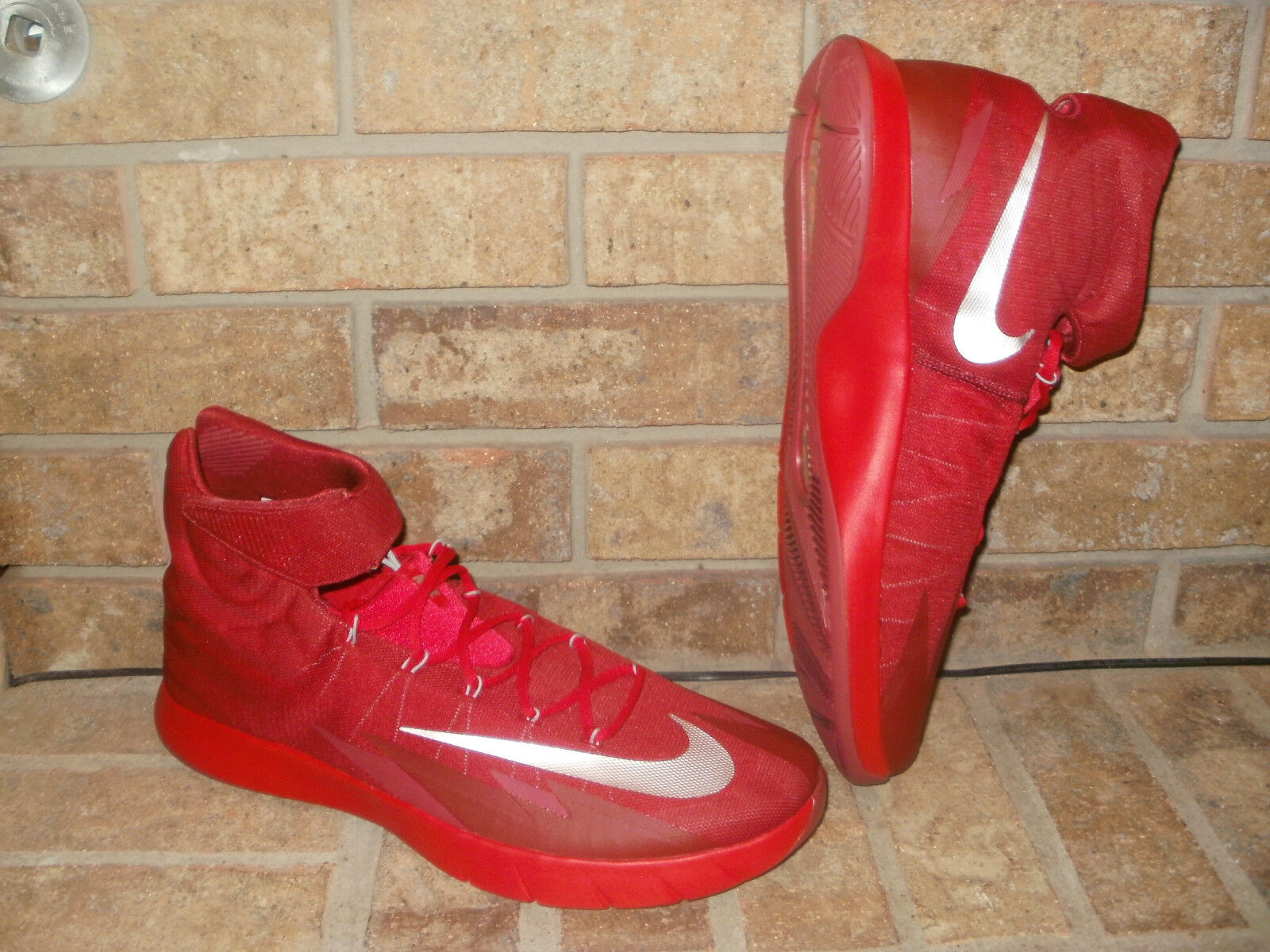 Nike Zoom HyperRev 2014 Basketball Shoe /SZ 17 M /643301 604/Red-Silver $140