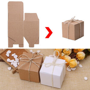 50PCS-Kraft-Paper-Square-Chocolate-Candy-Gift-Boxes-Wedding-Party-Favor-Box