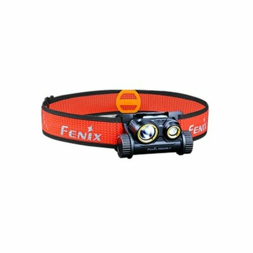 LiIon Akku 3500 mAh 1500 Lumen Fenix HM65R-T Stirnlampe Kopflampe mit USB inkl