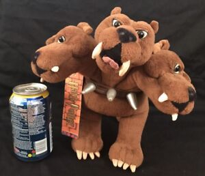Details About Gund Harry Potter Plush Fluffy Cerberus 3 Headed Dog Specialty Stuffed Animal