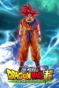 Dragon Ball Poster Raditz Saga Fight 12inx18in Free Shipping