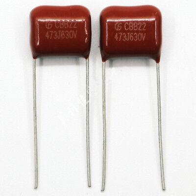 20pcs 630V 473 J 0.047uf 47nf 47000pf P10 CBB21 CBB metal film capacitor