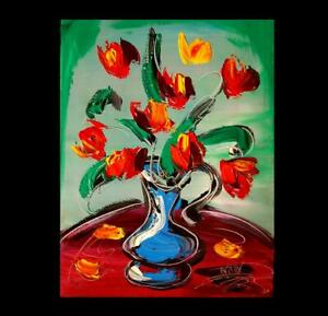 FLORAL-STILL-LIFE-IMPRESSIONIST-LARGE-ORIGINAL-OIL-PAINTING-G5Y45