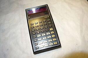 Texas-TI-51-III-3-Taschenrechner-Alt-Rote-Leuchtzahlen-H221-defekt