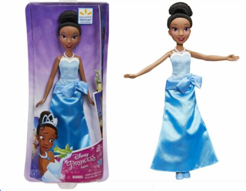 Disney Princess Tiana in Blue Ball Gown NEW Walmart Exclusive