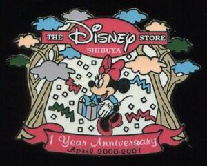 Shibuya-Disney-Store-1-Year-Anniversary-Minnie-Mouse-LE-Disney-Pin-13294