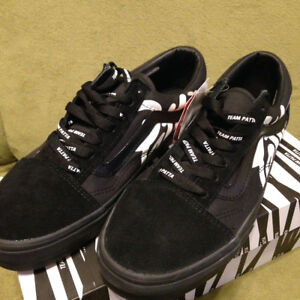 Details about PATTA VANS BEAMS old school mean eyed cat Black Sneaker From JAPAN Free shipping