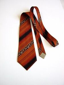 Cravate-Vintage-70-MADE-IN-ITALY-ORIGINAL