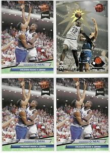 1992-93-Fleer-Ultra-Shaquille-O-Neal-Rookie-Rejector-Insert-Lot-No-4-amp-328