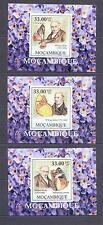 MOZAMBIQUE 2009, Butterflies, Kirby (II) set of 6SS, De Luxe MNH**(12)