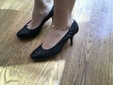 Pierre Hardy ROUND-TOE LEATHER PUMPS Shoes size 38 US 8 UK 5