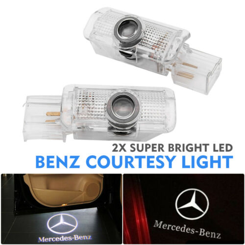 Fit Mercedes Benz Cree LED Projector Car Door Light Courtesy Entrying logo light