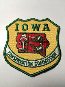 Iowa-Conservation-Commission-Law-Enforcement-Patch-4-034-x-4-25-034-Vintage-Patch
