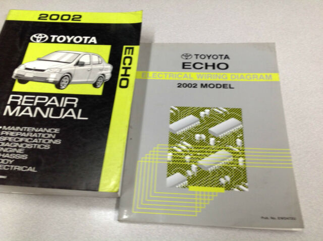 1996 Toyota Tercel Service Shop Repair Set Oem Service And