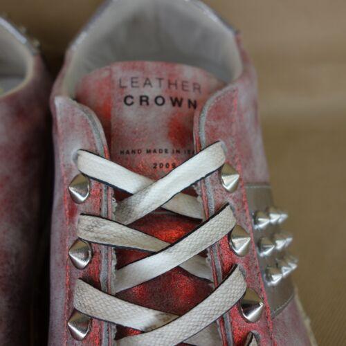 Studs Crown 42 Np Nieuw Schoenen Lage Top Trainers Dames Lederen 41 Marble 339 1q6wn84n
