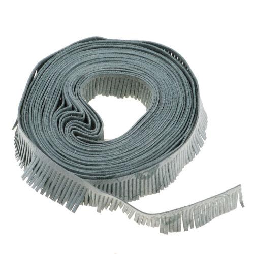 À faire soi-même Craft environ 1.50 cm 5 M Chiffon Trim Tassel Fringe Lace Ruban Vêtement Rideau 0.59 in