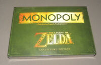 The Legend Of Zelda Monopoly Collector's Edition Board Game Sealed
