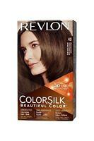 2 Pack Revlon Colorsilk Beautiful Permanent Hair Color (40) Medium Ash Brown on sale
