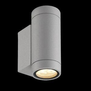 Details Zu Aluminium Led Wand Lampe Aussenlampe Wandlampe Oben Unten Updown Aussenwandlampe