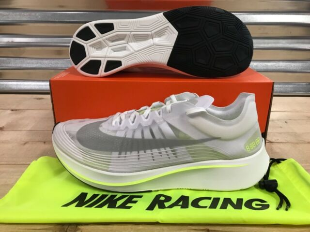 52dd58a25d141 Nike Zoom Fly SP Running Shoes Aj9282 107 Mens Sz 15 White Volt Glow ...