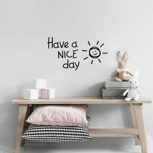 Kids Bedroom Wall Decal Rules Room Decor Quote Stickers Removable Mural WE