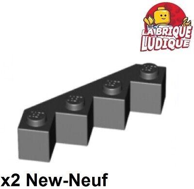 LEGO 8x facettes-Pierre 4x4 rien en Noir 14413