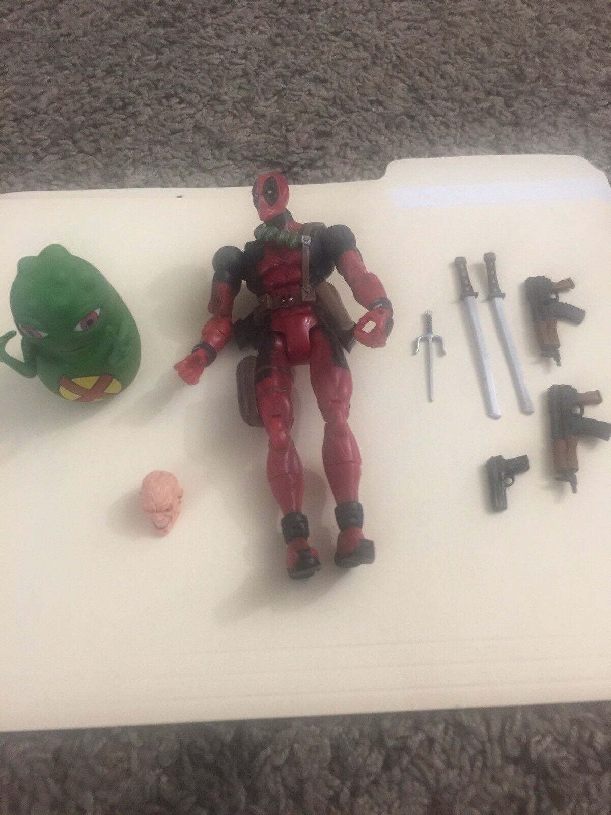 Marvel Legends Juguetebiz Deadpool Series 6 no completar