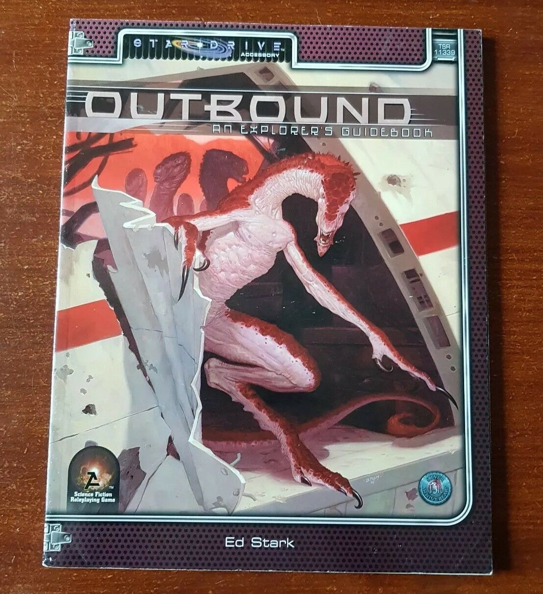OUTBOUND EXPLORERS GUIDEBOOK STARDRIVE ALTERNITY TSR DND D&D OSR RPG ROLEPLAYING
