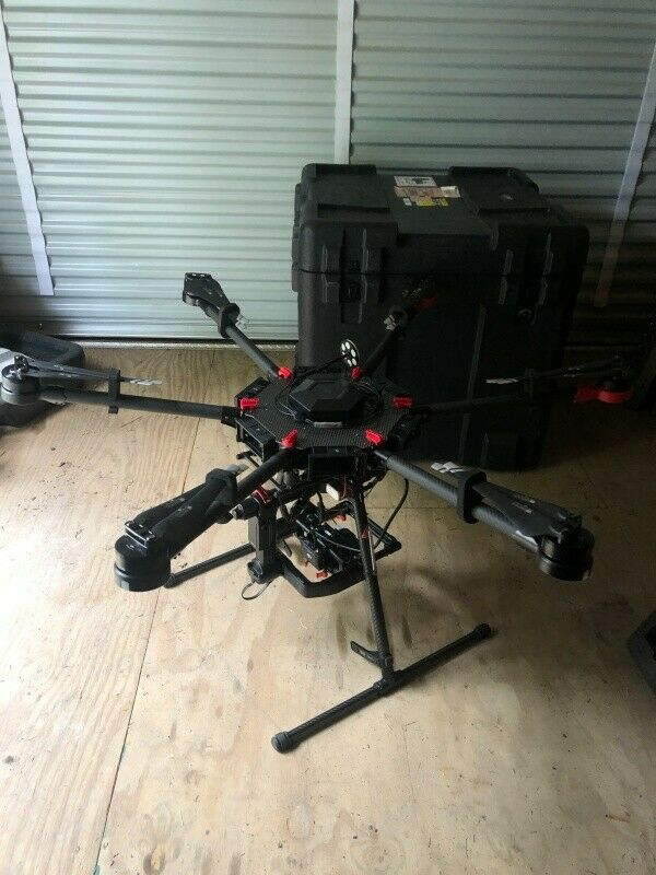 DJI Matrice 600 Quadcopter Professional Drone with Flir Duo Pro R Thermal Camera
