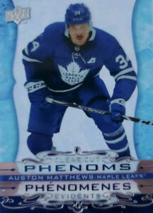 Upper Deck Tim Hortons 2020-21 Clear Cut Phenoms Hockey Cards You Pick From List