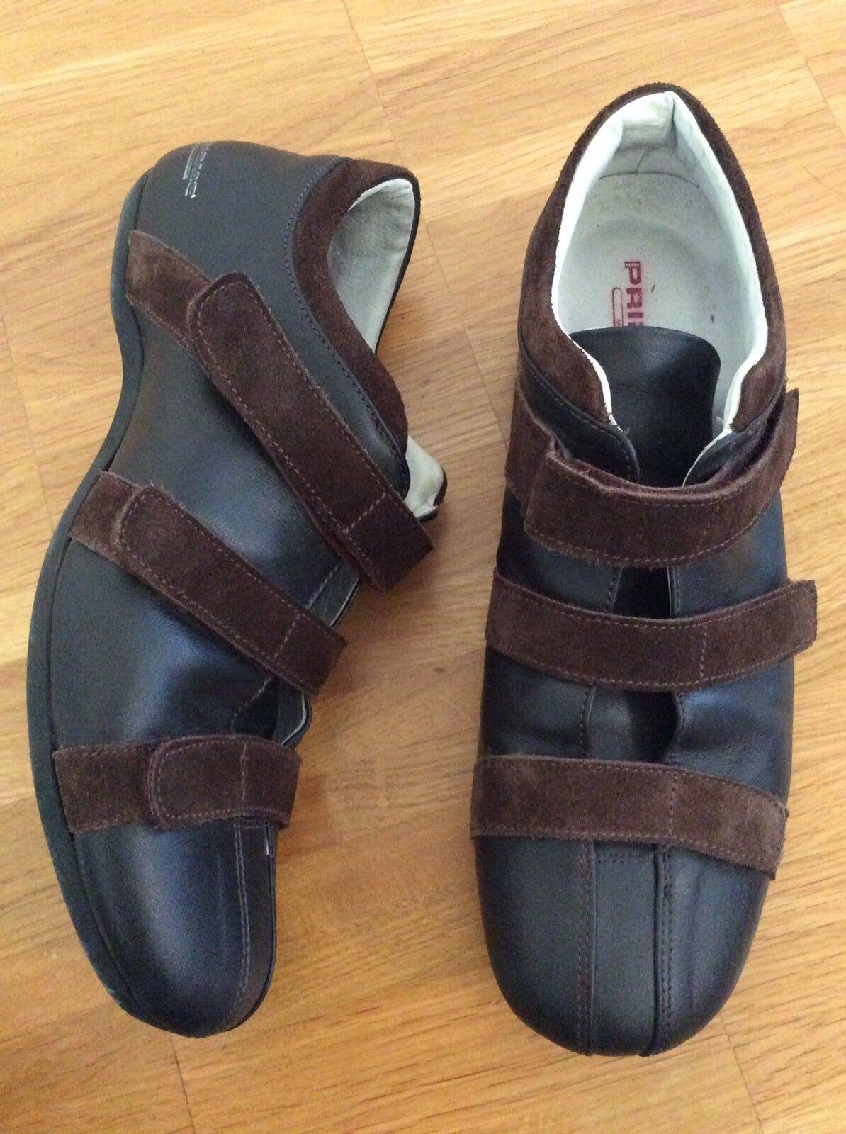 Primabase Herren Sneaker Gr. 40 aus braunem Leder