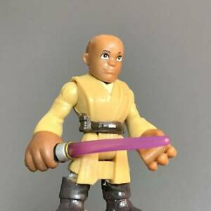 Playskool-Star-Wars-Galactic-Heroes-Jedi-Force-MACE-WINDU-From-JANGO-FETT-SETS