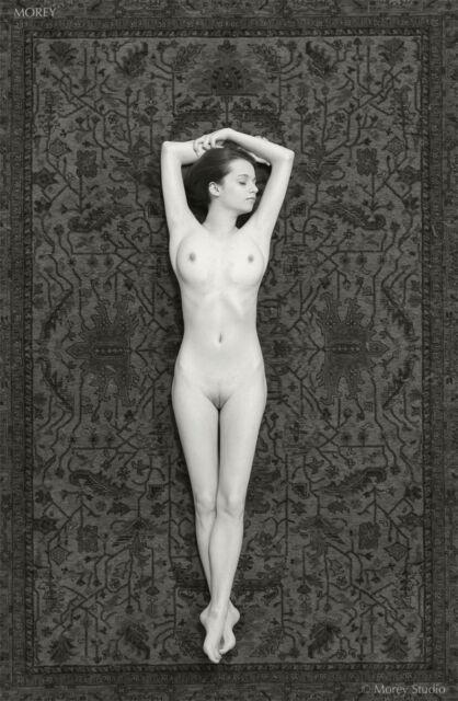 B&W Fine Art Nude Model - signed 8.5x11 photo by Craig Morey: Kristin 30083BW