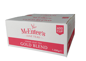 McEntee's Irish Loose Leaf GOLD BLEND Tea - CATERING 1.35Kg - 600 Cup BY DSDELTA