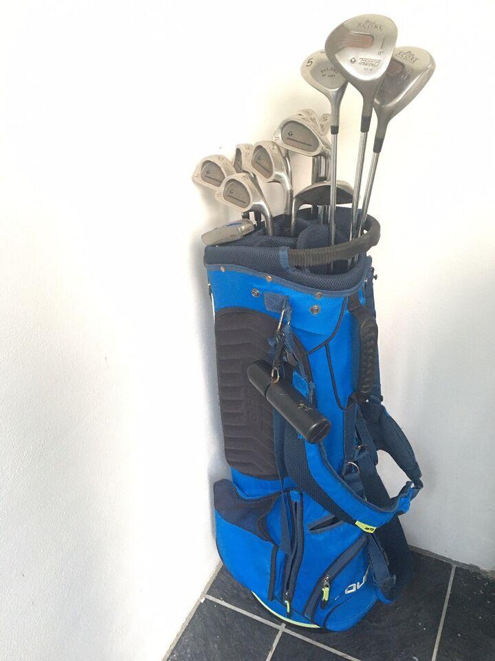 Herre golfsæt, stål, FOUR-D