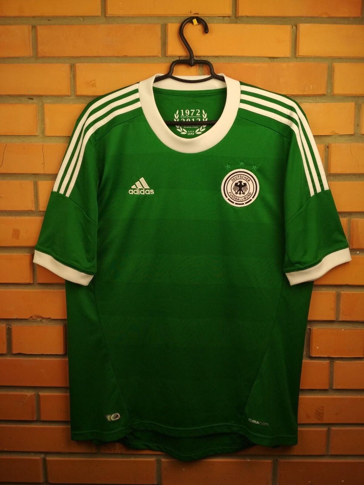 Alemania DFB Jersey Camisa Grande 2012 2013 lejos X21412 Fútbol Fútbol Adidas