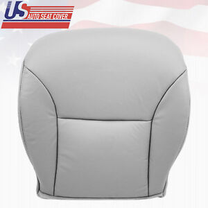 Fits 2004 2005 Lexus RX330 Front Driver Side Bottom Vinyl Seat Cover Gray