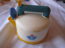 Fisher Price Fun with Food Whistling Tea Pot Kettle pretend party kitchen yellow