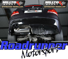 Milltek BMW 135i Exhaust Secondary Cat Back Black Tips Coupe Cabrio SSXBM948 EC